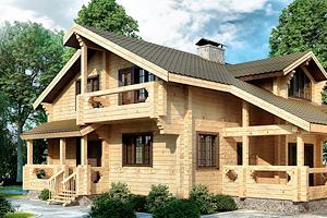 Преимущества строительства домов из дерева