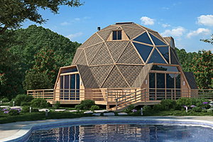 Купольные дома – строительные технологии будущего