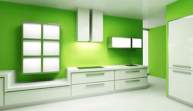 Чем покрасить стены на кухне?