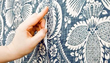Виды текстильных обоев