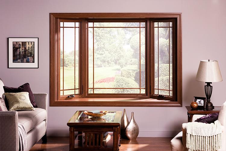 Деревянное окно из клееного бруса
