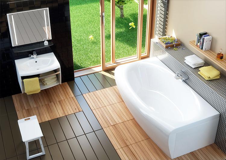 современная-ванная