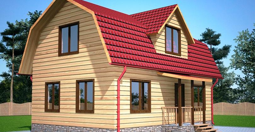 Преимущества «ломаной» мансардной крыши