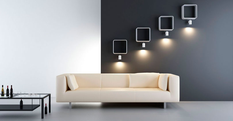 Применение спотов для эффектного освещения интерьера