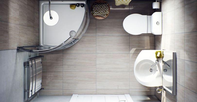 Идеи дизайна интерьера для маленькой ванной